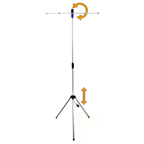 Tripod Portable Misting Tower